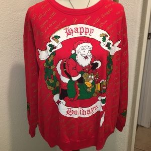 80's Christmas sweater